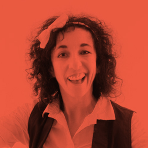 Foto di Orit interpretando il personaggio di Elsa Lame